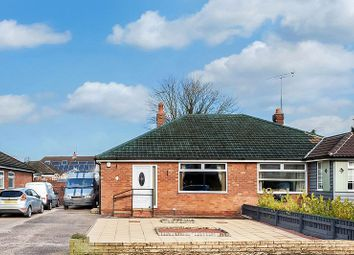 Thumbnail 2 bed semi-detached bungalow for sale in Leamington Road, Congleton