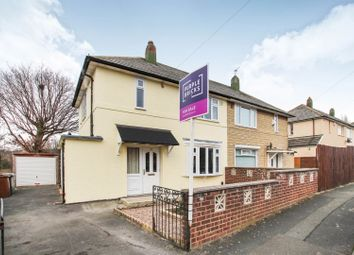 Thumbnail 2 bed semi-detached house for sale in Brooklands Lane, Leeds