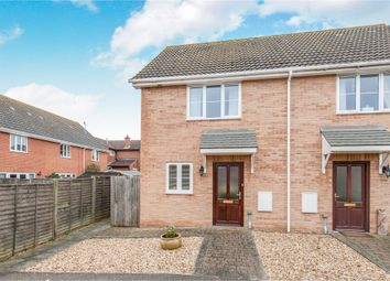 Thumbnail 2 bed semi-detached house for sale in Willow Close, Great Finborough, Stowmarket