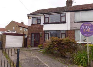 Thumbnail 3 bed semi-detached house for sale in Wembley Avenue, Poulton-Le-Fylde