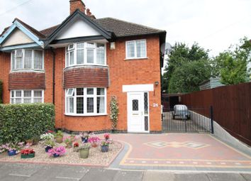 Thumbnail 3 bedroom semi-detached house for sale in Westgate Road, Knighton, Leicester