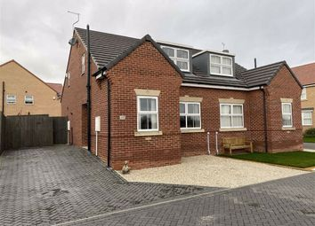 Thumbnail 3 bed semi-detached bungalow for sale in Earl Street, Goole