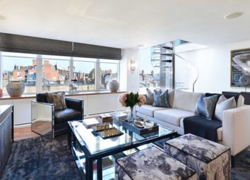 Thumbnail 3 bed penthouse to rent in Young Street, London