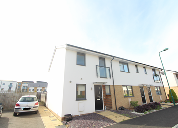 Thumbnail 2 bed end terrace house for sale in Miller Way, Peterborough