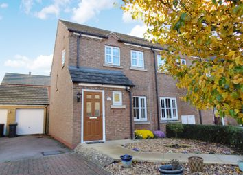 Thumbnail 2 bed end terrace house for sale in Goldfinch Drive, Sandy