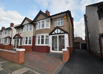 Thumbnail 3 bed semi-detached house for sale in Winchester Drive, Wallasey