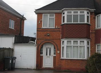 Thumbnail 3 bed semi-detached house to rent in Wensleydale Road, Great Barr, Birmingham