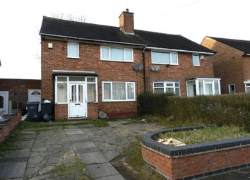 Thumbnail 2 bed semi-detached house for sale in Thistledown Road, Shard End, Birmingham