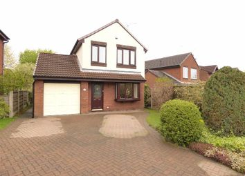 Thumbnail 3 bed detached house for sale in The Whitfields, Macclesfield, Cheshire
