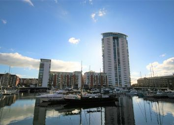 Thumbnail 1 bed flat for sale in Meridian Tower, Maritime Quarter, Swansea