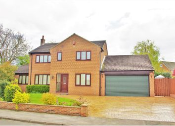 Thumbnail 4 bed detached house for sale in Church Garth, Great Smeaton