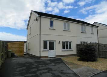 Thumbnail 3 bed semi-detached house for sale in Ffynnon Y Waun, Ponthenry, Llanelli