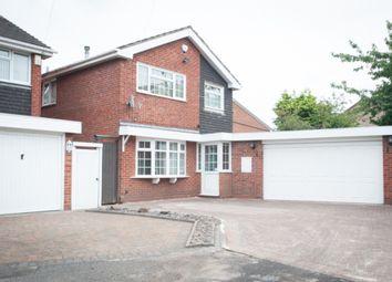 Thumbnail 4 bed detached house for sale in Bridgeman Croft, Castle Bromwich, Birmingham