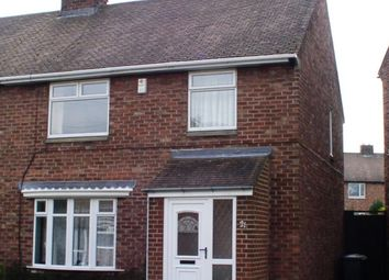 Thumbnail 4 bed semi-detached house to rent in Gray Avenue, Framwellgate Moor, Durham