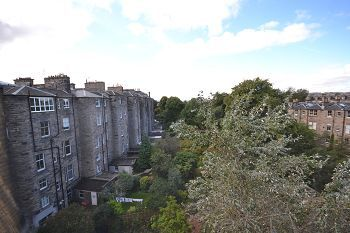 Thumbnail 1 bed flat to rent in Palmerston Place, Edinburgh
