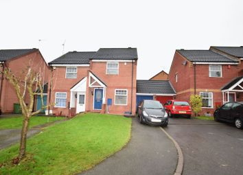 Thumbnail 2 bed semi-detached house to rent in Ambergate Close, Brockhill, Redditch