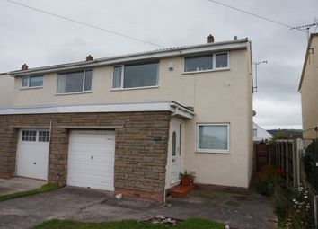 Thumbnail 3 bed semi-detached house for sale in Towyn Road, Abergele