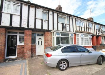 Thumbnail 3 bed terraced house for sale in Connaught Road, Luton, Bedfordshire