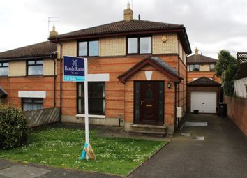 Thumbnail 3 bedroom semi-detached house for sale in Grangewood Road, Dundonald, Belfast