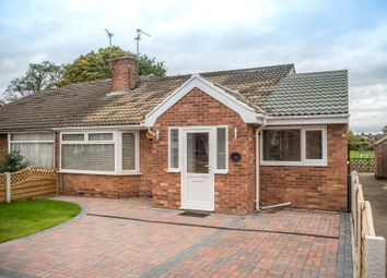 Thumbnail 3 bed semi-detached bungalow for sale in Eastfield Crescent, York