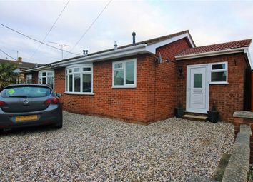 Thumbnail 2 bed semi-detached bungalow for sale in Seaview Road, Canvey Island, Essex