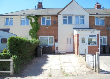 Thumbnail 4 bed terraced house to rent in Holcombe Road, Tyseley