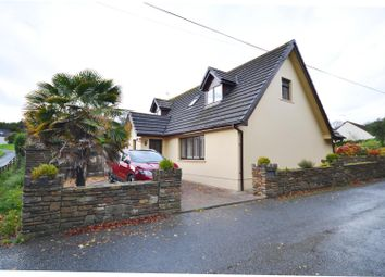 Thumbnail 3 bed detached house for sale in Valley Road, Saundersfoot