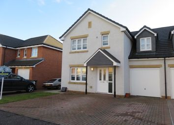 Thumbnail 3 bed semi-detached house for sale in Burnet Crescent, Motherwell