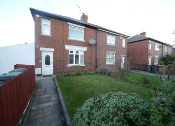 Thumbnail 2 bed semi-detached house to rent in Benjamin Road, Wallsend