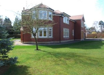 Thumbnail 5 bed detached house to rent in Middle Drive, Darras Hall, Ponteland