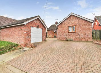 Thumbnail 5 bed detached bungalow for sale in Finningham, Stowmarket, Suffolk