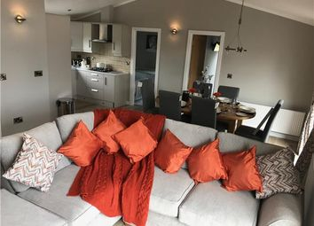 Thumbnail 4 bed lodge for sale in Trecco Bay Holiday Park, Porthcawl, Wales