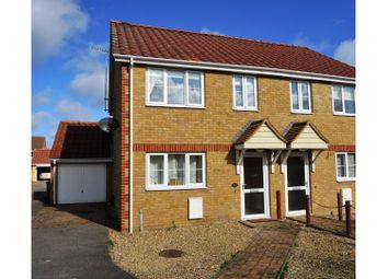 Thumbnail 3 bed semi-detached house for sale in Mulberry Lea, Upwell