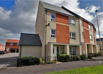 Thumbnail 4 bedroom town house for sale in Burrough Fields, Exeter
