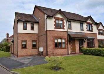 Thumbnail 4 bed semi-detached house for sale in Odell Way, Walton-Le-Dale, Preston