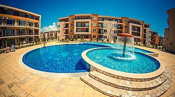Thumbnail 1 bed apartment for sale in Holiday Fort Golf Club, Sunny Beach, Bulgaria
