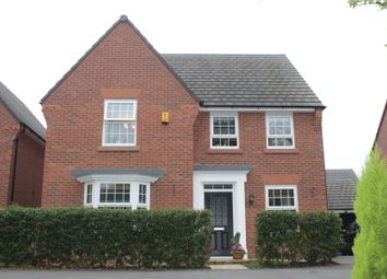 Thumbnail 4 bed detached house for sale in Waterlily Grove, Stapeley, Nantwich