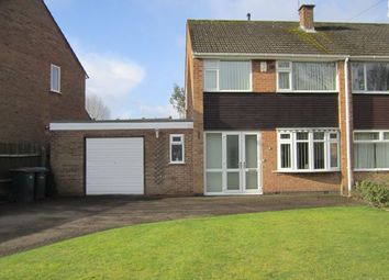 3 bed semi-detached house for sale in Shottery Close, Mount Nod, Coventry CV5