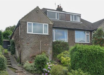 Thumbnail 4 bed semi-detached bungalow for sale in Manor House Road, Wilsden, West Yorkshire