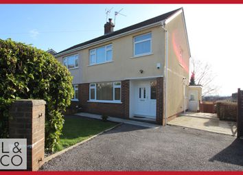 Thumbnail 3 bed semi-detached house to rent in Penylan Close, Newport