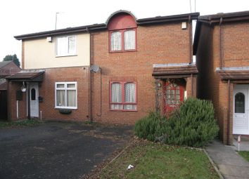 Thumbnail 2 bedroom semi-detached house for sale in Pearson Street, Cradley Heath