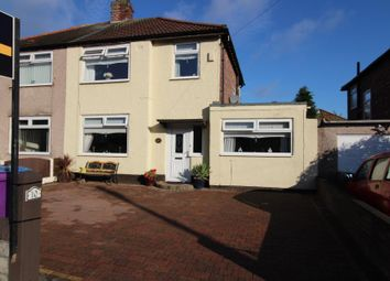 Thumbnail 4 bed semi-detached house for sale in Mackets Close, Woolton