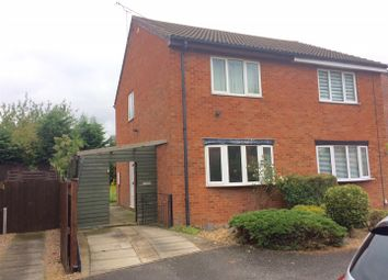 Thumbnail 2 bed property to rent in Warren Avenue, Leicester