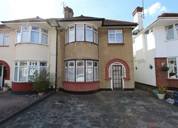 Thumbnail 3 bed semi-detached house for sale in Rutland Avenue, Southend-On-Sea, Essex