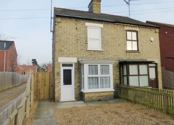 Thumbnail 3 bedroom semi-detached house for sale in Ramnoth Road, Wisbech