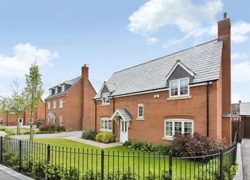 Thumbnail 4 bed detached house for sale in Gallus Drive, Hinckley