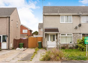 Thumbnail 2 bed semi-detached house for sale in Cynan Close, Beddau, Pontypridd