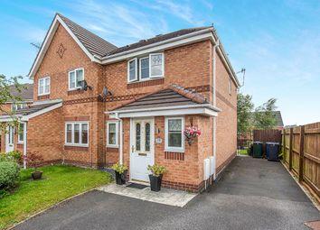 Thumbnail 3 bed semi-detached house for sale in De Haviland Way, Skelmersdale, Lancashire