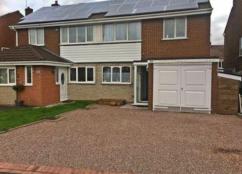 Thumbnail 3 bed semi-detached house for sale in Kestrel Road, Halesowen