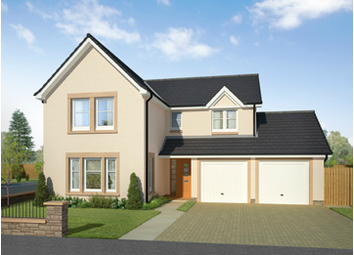 Thumbnail 4 bed detached house for sale in The Lewis, Calder Street, Coatbridge, North Lanarkshire